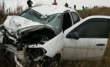 Un vecino de Bonifacio perdió la vida en un accidente en Ruta Provincial 65