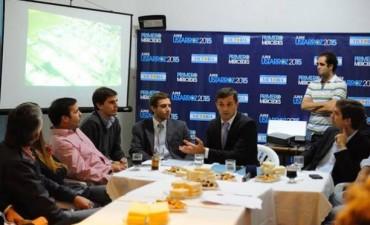 """BUCCA: """"Juani y su equipo pueden llevar adelante una gestión exitosa como la que logramos en Bolívar"""""""