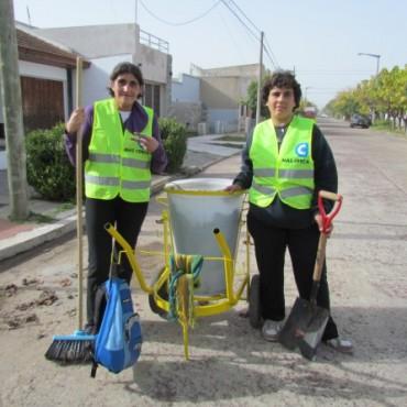 Nuevo Barrido Manual: Primer día de actividad en las calles de la ciudad