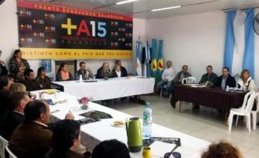 La Mesa Seccional de la Séptima del FR se reunió en Saladillo