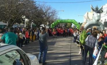 Gran participación bolivarense en la Maratón Solidaria de Carlos Casares