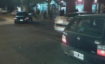 Se registró una colisión entre dos autos, este martes por la noche, afortunadamente no dejó heridos
