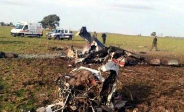 Dos muertos al caer avión en un campo cerca de Punta Alta