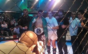 Kick Boxing: No ganaron pero dejaron un buen espectáculo los peleadores bolivarenses