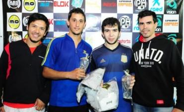 Padel: Diego Saganíaz y Martín Herrera, fueron los ganadores