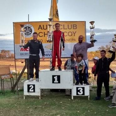 Karting: Federico Díaz invencible en la 150