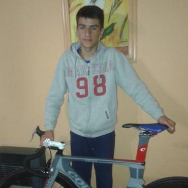 Un ciclista bolivarense competirá en España en los próximos meses