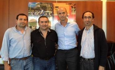 El equipo de Gustavo Durquet