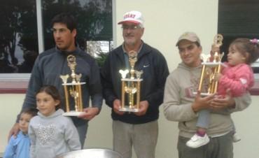 Se realizó el concurso por tríos en la Laguna San Luis