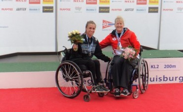 Canotaje: Brenda Sandon es medalla de plata en Alemania