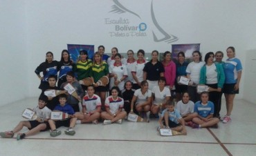 Se disputó el torneo de Pelota Paleta en Club Empleados