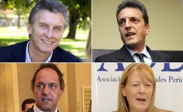 El primer debate presidencial argentino será el 4 de octubre