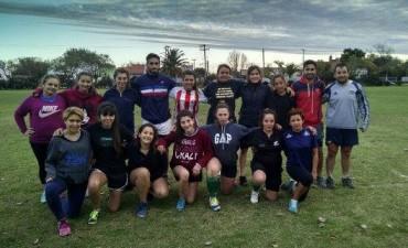 Se realizó en Bolívar un encuentro de Rugby Femenino e Infantil