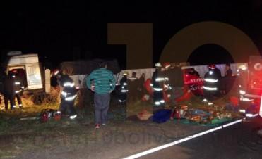 Saldo fatal en un grave accidente en la Ruta 65