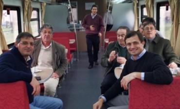 Intendentes de la Séptima acompañaron a Florencio Randazzo en Olavarría