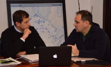 El Intendente se reunió con Javier Weber
