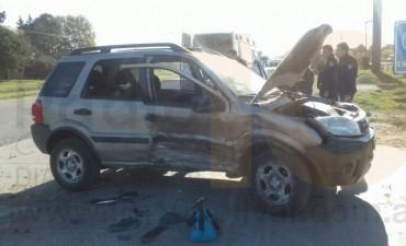 Impactante accidente de tránsito en inmediaciones de Las Cavas dejó dos heridos