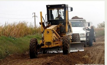 Camino hacia 'María Lucila': Trabajos sobre caminos rurales