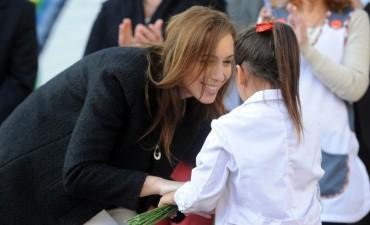 María Eugenia Vidal anunció la reforma educativa: