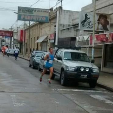 Se corrió la Vuelta al Municipio de Olavarría con participación bolivarense