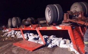 Herrera Vegas: Bomberos Voluntarios de Henderson acudieron a un vuelco