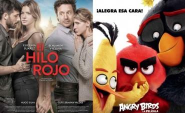 Llega al Cine 'El Hilo Rojo' y 'Angry Birds'
