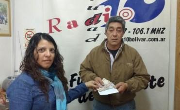 FM 10 entregó el dinero de las donaciones: Deportivo Unión recibió la suma de $ 3.050
