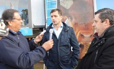 El intendente Bucca estuvo presente en la inauguración de la Expo Daireaux