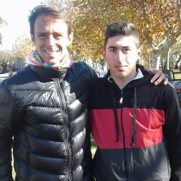 Juan Manuel Cháves y Lucas Arroyo, se quedaron con la prueba 'Unión de los Pueblos'