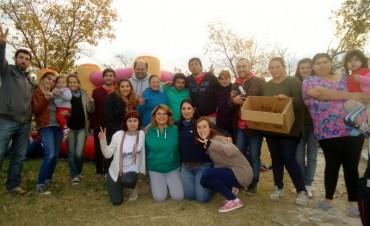 'La Cámpora' y 'Nuevo Encuentro',  festejaron en los barrios el 25 de Mayo