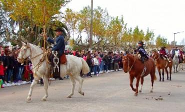 Se realizó en el acto oficial del 25 de Mayo en Urdampilleta