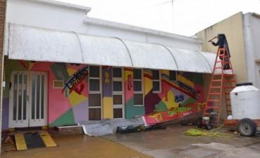 Jardín Maternal 'Alicia Moreau de Justo': Se realizan tareas de mantenimiento