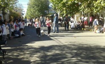 Se desarrolló con éxito un nuevo desfile de mascotas organizado por la comunidad de la Escuela de Educación Especial N°502
