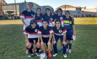 El equipo de Casariego con buenas actuaciones en el Torneo de Fútbol Femenino del Club Talleres