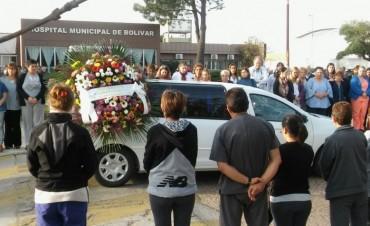 Inhumaron los restos de la Dra. Mariana Peret