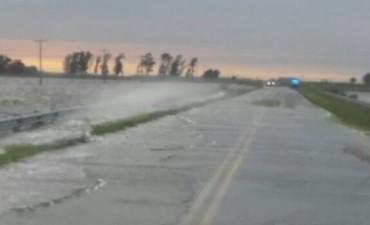 Provincia confirmó que ampliarán el paso de agua en RN 188 y 33, pero no informó cuándo