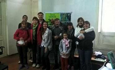 FORTALECIMIENTO DE LA ECONOMÍA SOCIAL: Se entregaron semillas a los agricultores de la Feria Verde