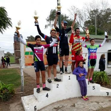 Asociación de Ciclistas Pehuajenses: Juan Giordano en tercer puesto en la Categoría Menores de 38 en Pehuajó