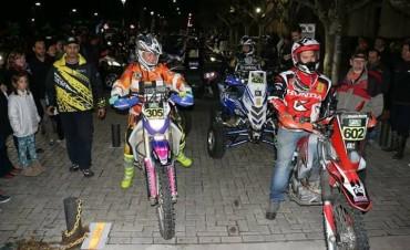 Bolívar disfrutó el paso de la primera fecha del Enduro Rally Buenos Aires
