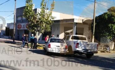 Accidente sin consecuencias en Ameghino y Belgrano
