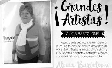NUEVA MUESTRA DEL CICLO GRANDES ARTISTAS: Expone Alicia Bartolomé
