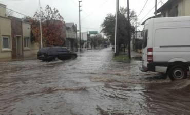 Un ciclón extra tropical causó el temporal en Tandil