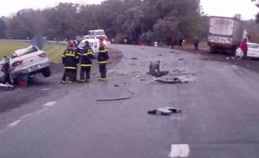 Dos muertos y un herido grave en Ruta 3: las víctimas son olavarrienses