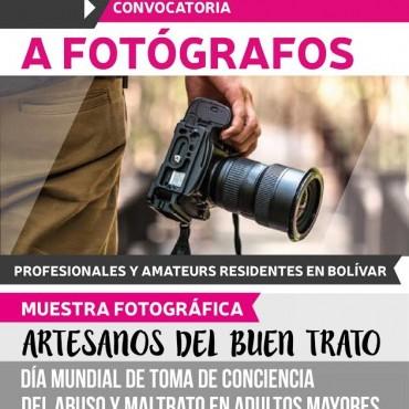 ARTESANOS DEL BUEN TRATO: Se convoca a fotógrafos para realizar una muestra