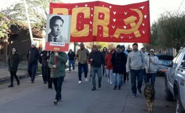 HOMENAJE A DESAPARECIDOS BOLIVARENSES: Una baldosa por la memoria de César 'Gody' Álvarez