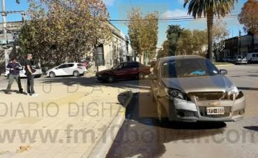 Accidente de tránsito en avenida Lavalle y Roca