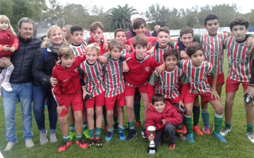 Mundialito Homenaje Nico Treviño: Unión y Progreso de Tandil se consagro campeón
