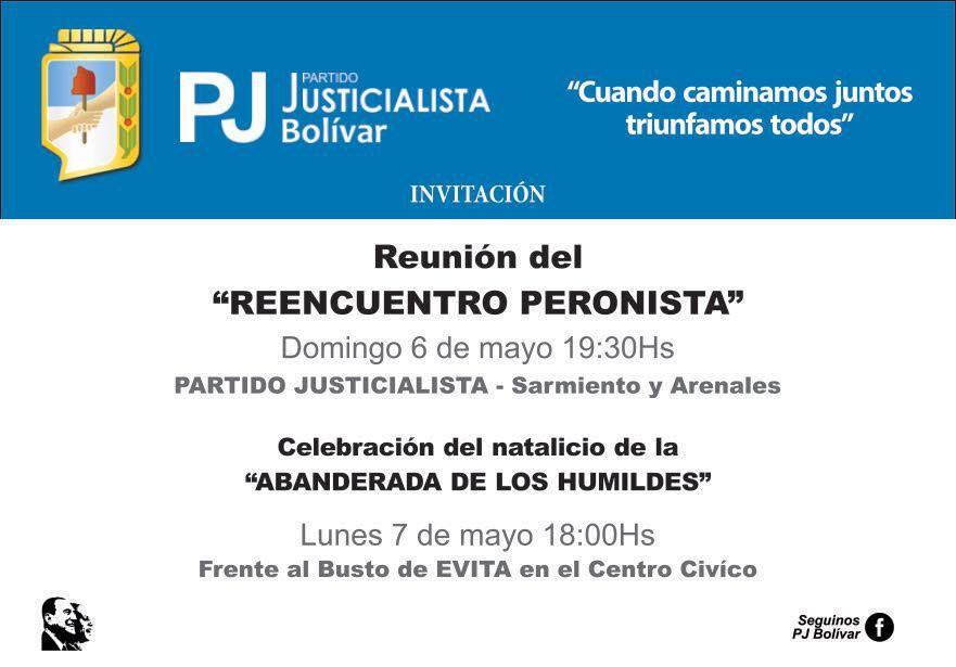 Reunión del 'Reencuentro Peronista'