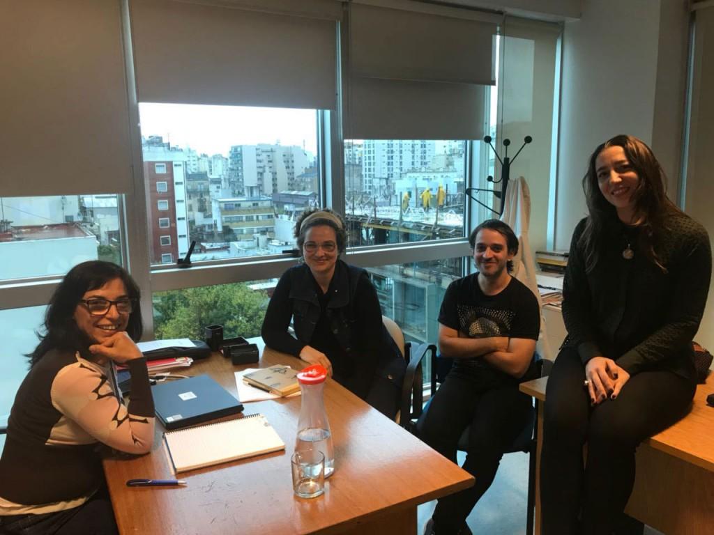 Nadia Marchione mantuvo reuniones en el INCAA Y El Centro Cultural Recoleta
