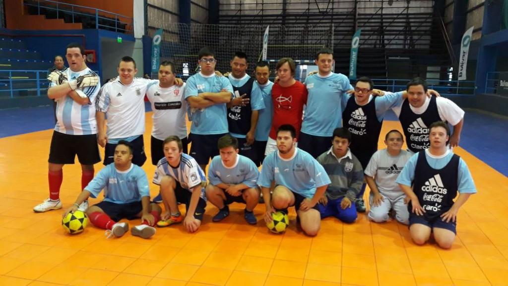 Se encuentra en Bolívar la Selección Nacional de Futbol con Síndrome de Down